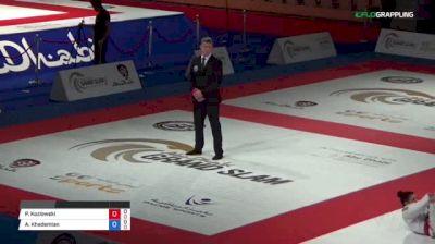 Pawel Kozlowski vs Amirhossein Khademian Abu Dhabi Grand Slam Abu Dhabi