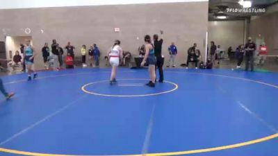 66 kg Rr Rnd 2 - Avangeline Turner, CA vs Faith Bartoszek, WI