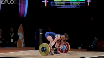 Mattie Roger Earns Bronze In The Snatch With This 104kg Lift