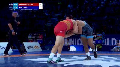 87 kg Final 3-5 - Oleksandr Prymachenko, Ukraine vs Lachin Valiyev, Azerbaijan