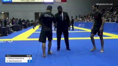 JOSÉ BRUNO PEREIRA MATIAS vs DIEGO DIAS RAMALHO 2021 World IBJJF Jiu-Jitsu No-Gi Championship