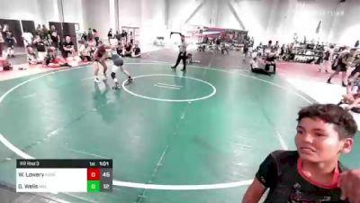 112 lbs Rr Rnd 3 - Will Lowery, Aggression vs Gavin Wells, Mat Demon WC