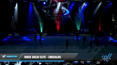 Rock Solid Elite - Emeralds [2021 L1 Youth - D2 - Small - A Day 2] 2021 The U.S. Finals: Pensacola