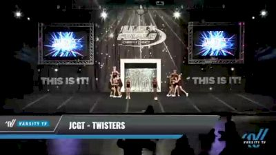 JCGT - Twisters [2021 L2.2 Junior - PREP Day 1] 2021 The U.S. Finals: Kansas City