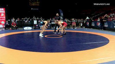 72 kg Quarters - Marlynne Deede, Twin Cities Regional Training Center vs Kylie Welker, Titan Mercury Wrestling Club