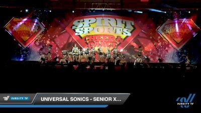 Universal Sonics - Senior Xclusive [2020 L3 Senior - D2 - Medium Day 2] 2020 Spirit Sports: Duel In The Desert