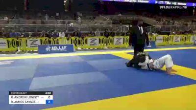 RYAN ANDREW LONDOT vs RICKY JAMES SAVAGE 2021 Pan Jiu-Jitsu IBJJF Championship
