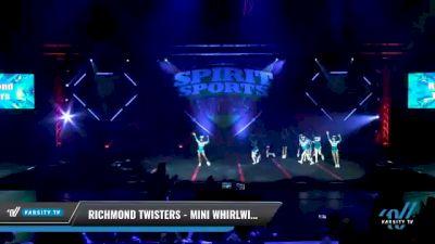 Richmond Twisters - Mini Whirlwinds [2021 L1 Mini - D2 Day 2] 2021 Spirit Sports: Battle at the Beach