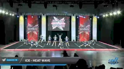 ICE - Heat Wave [2021 L4 Junior - Small - B Day 1] 2021 JAMfest Cheer Super Nationals