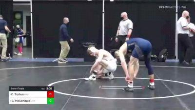 141 lbs Semifinal - Cody Trybus, Navy vs Connor McGonagle, Lehigh