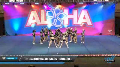 The California All Stars - Ontario - Platinum [2021 L3 Senior - Small Day 2] 2021 Aloha DI & DII Championships