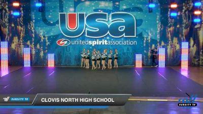Clovis North High School [2020 Freshman Song/Pom Day 3] 2020 USA Spirit Nationals