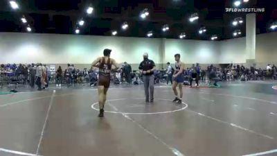 61 kg Consolation - Jordan Hamdan, Unattached vs Ryan Wehner, Compound Wrestling - Great Lakes