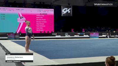 Joscelyn Roberson - Floor, NE Texas Elite - 2021 GK US Classic & Hopes Championship