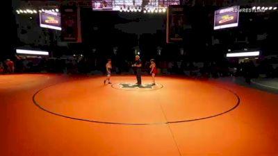 106 lbs 5th Place - Brandon Morvari, Minnesota vs Ethan Grimminger, California