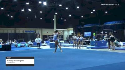 Sidney Washington - Floor, Gym America - 2020 Tampa Bay Turner's Invitational