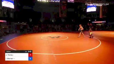 100 lbs 7th Place - Jaymz Young, Illinois vs Ian Werner, Alaska