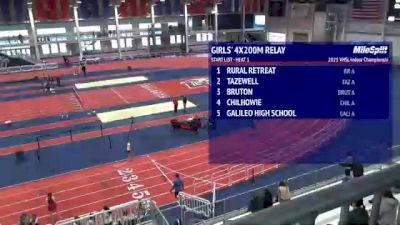 High School Girls' 4x200m Relay, Finals 1