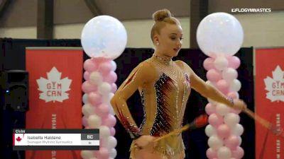 Isabella Haldane - Clubs, Okanagan Rhythmic Gymnastics Club - 2019 Elite Canada - Rhythmic