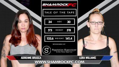 Adrienne Brusca vs. Lora Williams - Shamrock FC 305 Replay