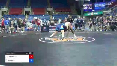 285 lbs Semifinal - Charles Crews III, Pennsylvania vs Chase Horne, Georgia