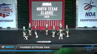 - Thunder Extreme Rain [2019 Youth 1 Day 1] 2019 NCA North Texas Classic