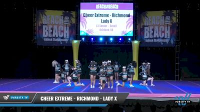 Cheer Extreme - Richmond - Lady X [2021 L3 Senior - Small Day 2] 2021 ACDA: Reach The Beach Nationals