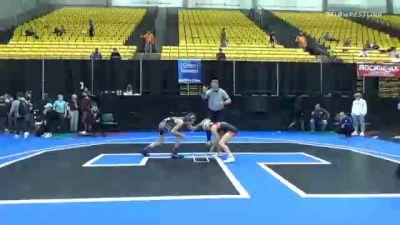 106 lbs Prelims - Sage Mortimer, Unattached 19 vs Jackzen Rairdon, Unattached 8