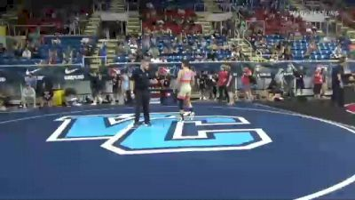 126 lbs Consi Of 64 #2 - William Davidson, Ohio vs Dean Peterson, New Jersey