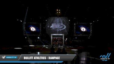 Bullitt Athletics - Rampage [2021 L5 Junior Day 2] 2021 The U.S. Finals: Louisville