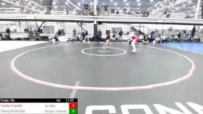 225 lbs Final - Parker Ferrell, Va Elite vs Remy Brancato, Bergen Catholic