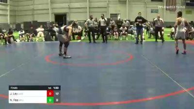 152 lbs Final - Jonathan Ley, Lake Highland Prep vs Nick Fea, Wyoming Seminary