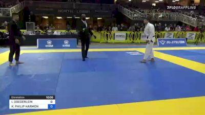 ISAAC DOEDERLEIN vs KEVIN PHILIP HARMON 2021 Pan Jiu-Jitsu IBJJF Championship