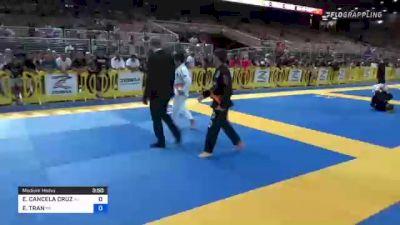 EDUARDO CANCELA CRUZ vs ETHAN TRAN 2021 Pan Kids Jiu-Jitsu IBJJF Championship