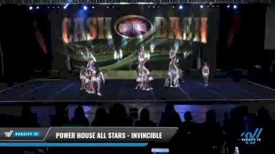Power House All Stars - Invincible [2021 L4.2 Senior Coed Day 1] 2021 ACP Cash Bash Championship