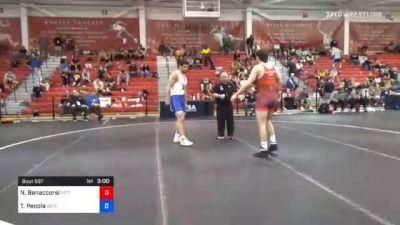 92 kg Quarterfinal - Nino Bonaccorsi, Pittsburgh Wrestling Club vs Thomas Penola, Boilermaker RTC