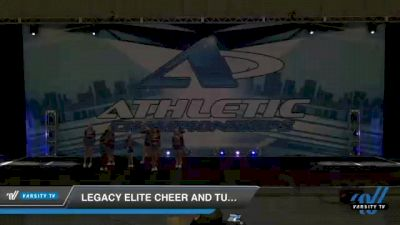 Legacy Elite Cheer and Tumble - Junior Vendetta [2021 L4 Junior - D2 Day 2] 2021 Athletic Championships: Chattanooga DI & DII