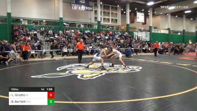 138 lbs Semifinal - Logan Sciotto, Rocky Point vs Beau Bartlett, Wyoming Seminary