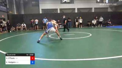 74 kg Prelims - Keegan O'Toole, Tiger Style Wrestling Club vs Elliott Rodgers, Indiana