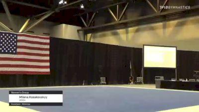 Milena Kosakovskyy - Women's Group, WOGA - 2021 USA Gymnastics Championships