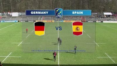 REC19 Round 5: Germany vs Spain