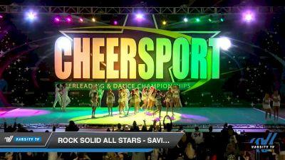 Rock Solid All Stars - Saviors [2020 International Open Coed 4 Day 1] 2020 CHEERSPORT National Cheerleading Championship
