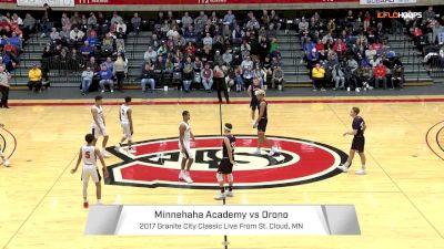 Minnehaha (MN) vs. Orono (MN)   12.30.17   2017 Granite City Classic