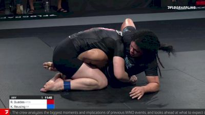 Rafaela Guedes Takes WNO Title with Guillotine Choke