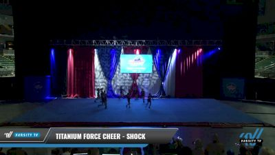 Titanium Force Cheer - Shock [2021 L1 Mini - D2 Day 1] 2021 The American Gateway DI & DII