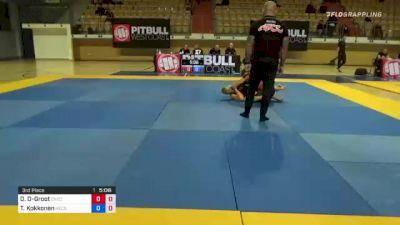 Daniel De-Groot vs Tuomas Kokkonen 1st ADCC European, Middle East & African Trial 2021