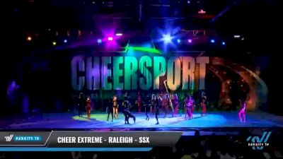Cheer Extreme - Raleigh - SSX [2021 L6 Senior - Small Day 2] 2021 CHEERSPORT National Cheerleading Championship