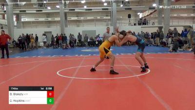 Prelims - Barrett Blakely, Appalachian State vs Caleb Hopkins, Unattached-Campbell