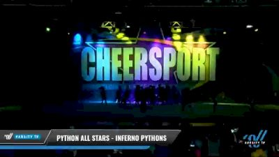 Python All Stars - Inferno Pythons [2021 L3 Junior - Medium - A Day 1] 2021 CHEERSPORT National Cheerleading Championship