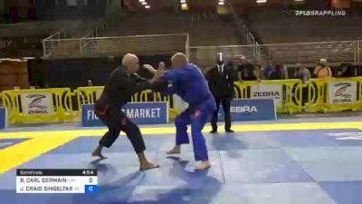 BRIAN CARL GERMAIN vs JAMES CRAIG SINGELTARY 2020 World Master IBJJF Jiu-Jitsu Championship